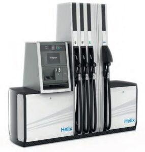 Helix kútoszlop technológia